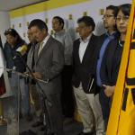 """PRD anuncia """"proceso rápido de fusión"""" con el PT"""