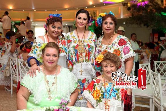 Rosmery Cel Pérez, Mariana Zorrilla de Borge, Gina Hernández de Salcido, Raquel de Puerto y Lupita de Cuellar