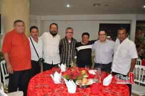 Carlos Diaz, Cirilo Rodriguez, Ruben Vizcaino, Nicolas Lizama, Jorge Diaz, Omar Capistran y Manuel Ortiz.