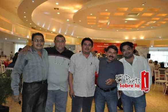 Xicoténcatl López, Jaime Castilla, Enrique Gonzales, Sergio López y Pedro Daniel Rodríguez.