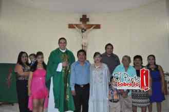Lo acompañaron sus hijos Julio Ricardo, Nancy Estefanía y Glendy Esmeralda, su nuera Edith Noemí Cáceres y sus nietos Gibran Ricardo y Julio Rodrigo.