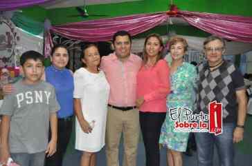 Héctor Jaimez, Zenaida Mejía, Judit Solís, Luz Macías y Daniel Gonzales.
