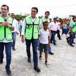 Cumple Remberto Estrada con espacios públicos dignos para los benitojuarenses