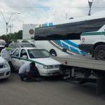 Detiene Sintra 18 unidades del sindicato de taxistas en Cancún