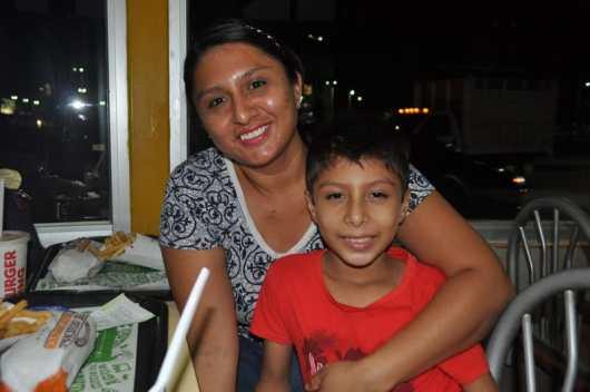 Reyna Espinoza e Ian Vargas.