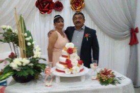 Jazmín y Ángel celebran su 35 aniversario de bodas