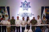 Inauguran Alcaldesa y Gobernador instalaciones de Seguridad Pública de Puerto Morelos