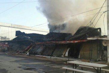 Madrugador incendio consume negocios de la Zona Libre de Belice