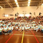 Fiesta deportiva la clausura del programa de verano de la COJUDEQ