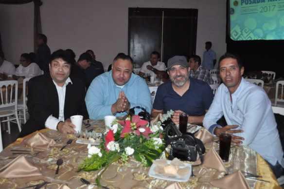 Gonzalo Hermosillo, Julián Santiesteban, Paco Villanueva y David García.