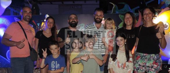 La familia Giulano, de Montepellier, al Sur de Francia.