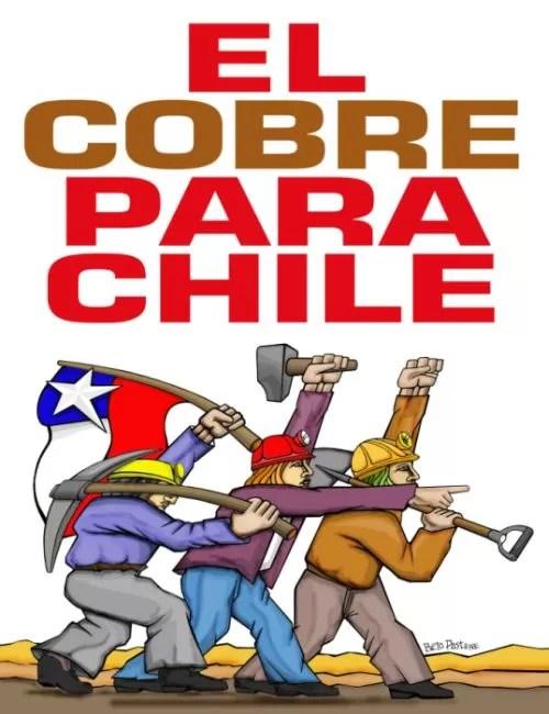 Resultado de imagen para el cobre es chileno