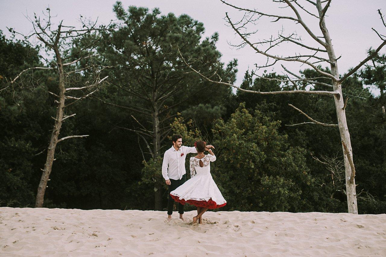Idea de vestido de novia inspirado en Frida Kahlo