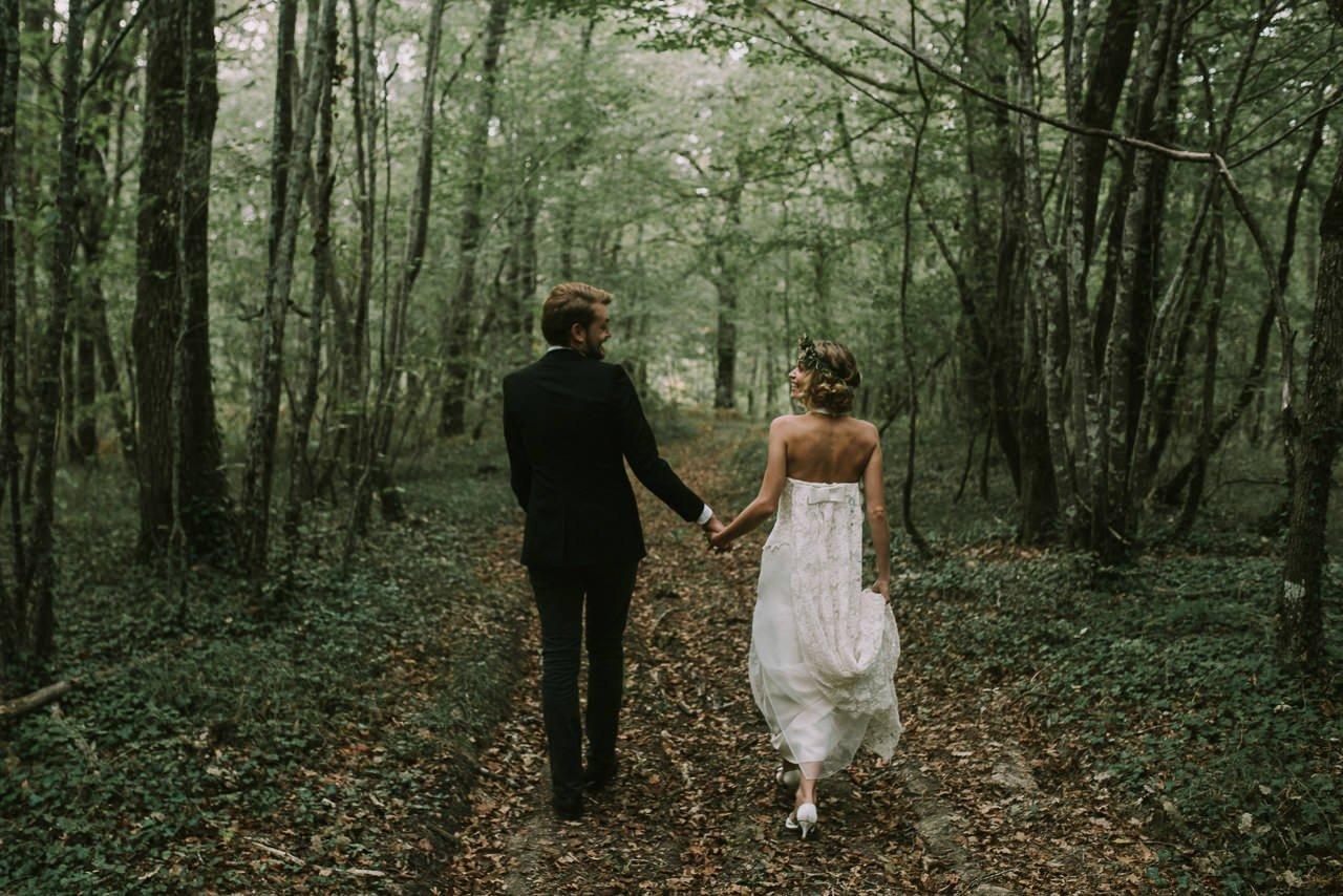 Elopement íntimo de pareja con fotografías naturales