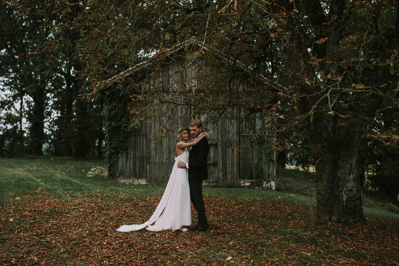 Fotografía de parejas estilo campestre y rural