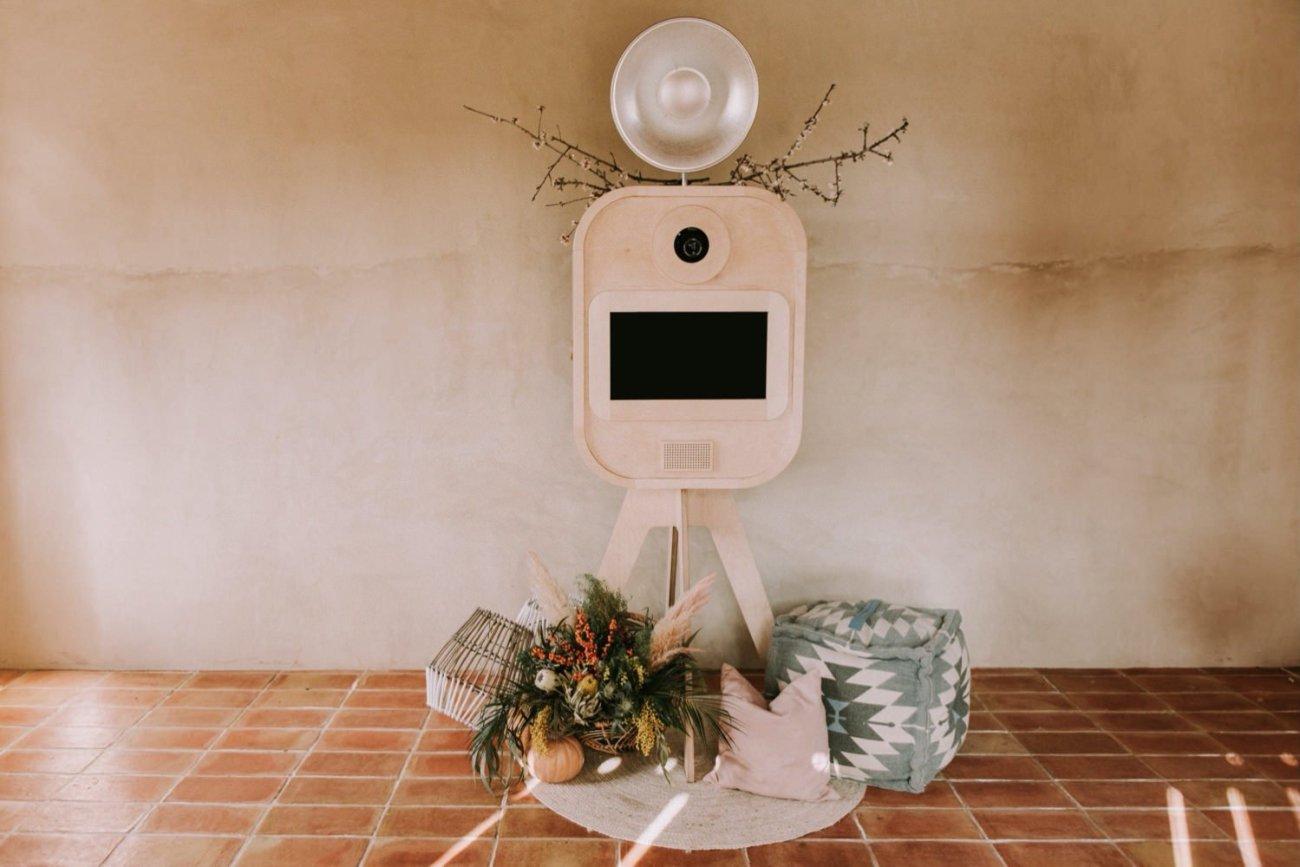 fotomaton para bodas vintage girona
