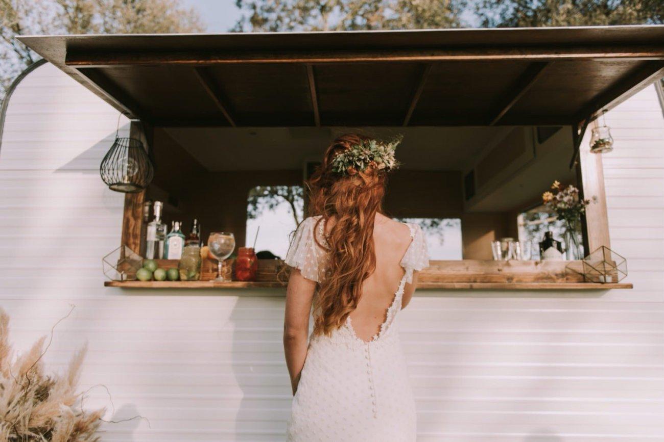 caravanas de bodas vintage