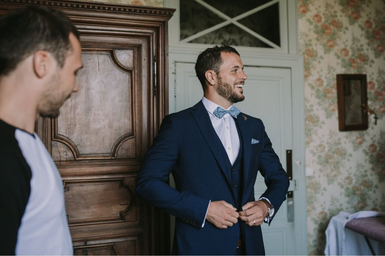 fotos preparativos novio boda