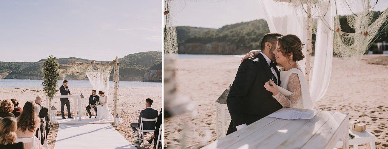 bodas de invierno en la playa