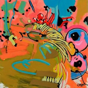 Pintura de Claudia Collao.