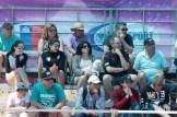 público en la Liga Nacional de Vóleibol Playa 2018