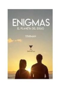 Portada de 'Enigmas, el planeta del exilio'. El título también puede ser comprado como iBook a través de Amazon.