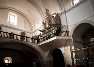 Órgano de Santa María de Tordesillas