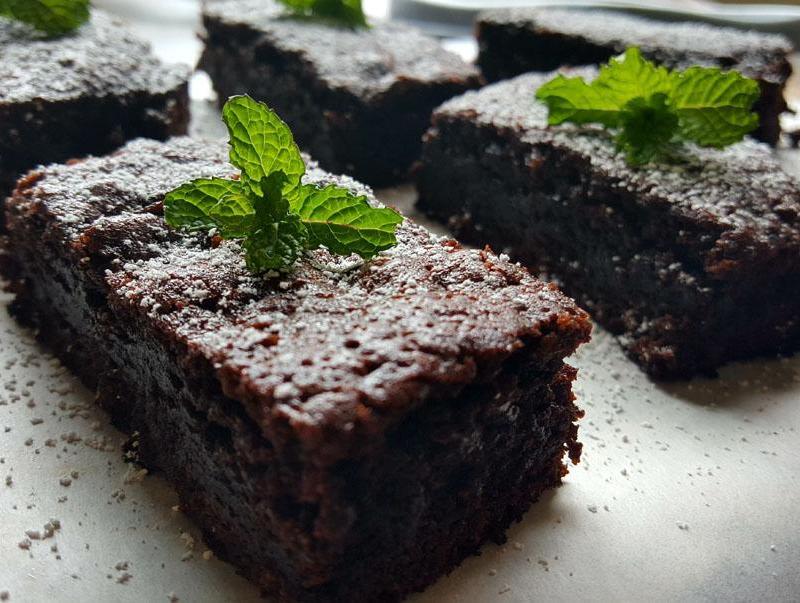 Brownies de Menta y Chocolate