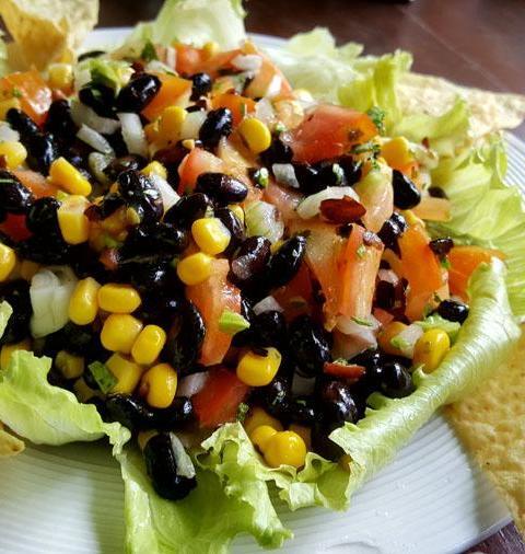 Ensalada de Frijoles Negros
