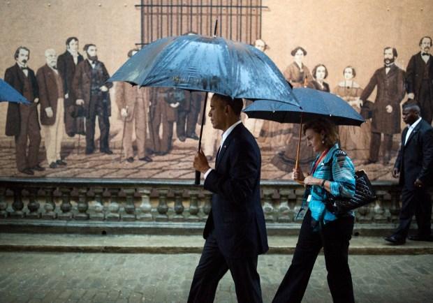 Primeras Fotos de Obama en Cuba.