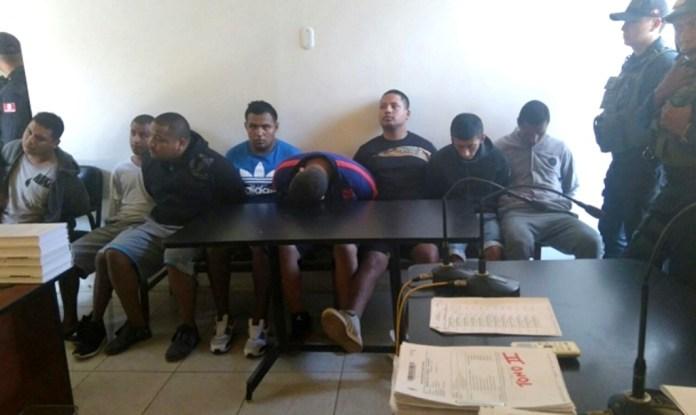 Presuntos delincuentes son capturados