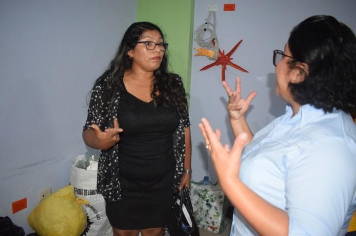 Directora de Ugel de Talara y Alcaldesa de Lobitos