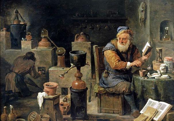 La alquimia en la Europa medieval