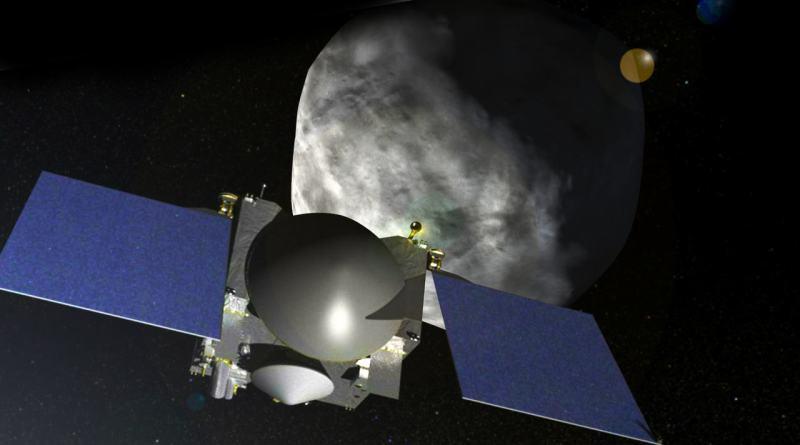 Astroide Bennu mostrado por OSIRIS-Rex