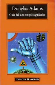 tapa del libro: Guía del Autoestopista Galáctico