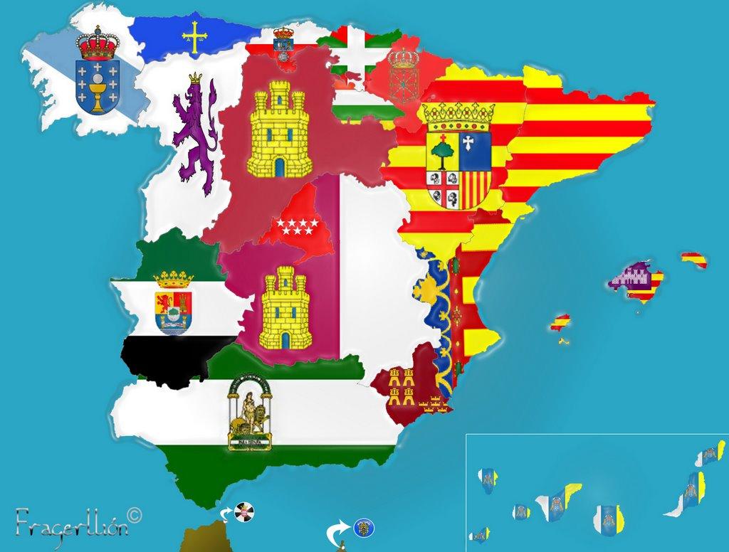 Un mosaico de banderas que debe desaparecer.