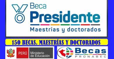 150 Becas para Maestrías y Doctorados.