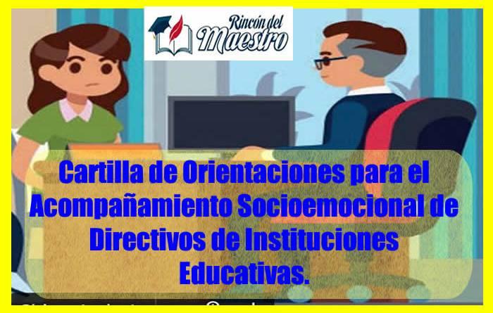 Cartilla Orientaciones Directivo