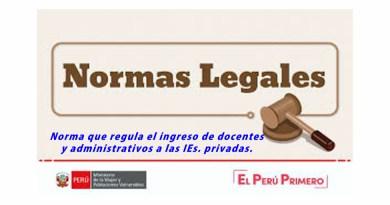 Norma Técnica 099-2020