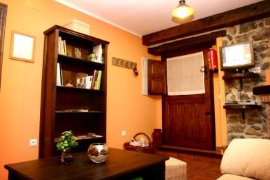 Salón de la Casa Rural EL Rincón del Sella