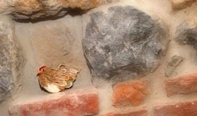 Detalle de decoración de la cocina de la Casa Rural el Rincón del Sella