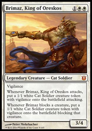 BRIMAZ, REY DE ORESKOS / BRIMAZ, KING OF ORESKOS (NACIDOS DE LOS DIOSES)