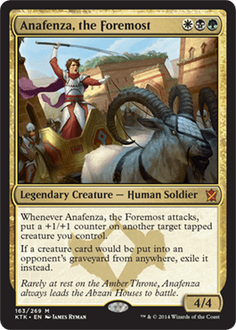 ANAFENZA LA LIDER / ANAFENZA THE FOREMOST (KHANS OF TARKIR)