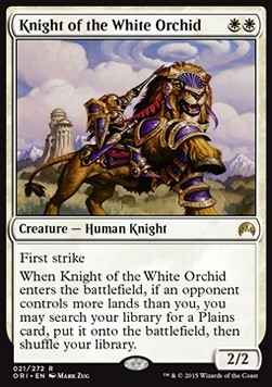 CABALLERO DE LA ORQUIDEA BLANCA / KNIGHT OF THE WHITE ORCHID (MAGIC ORIGENES)