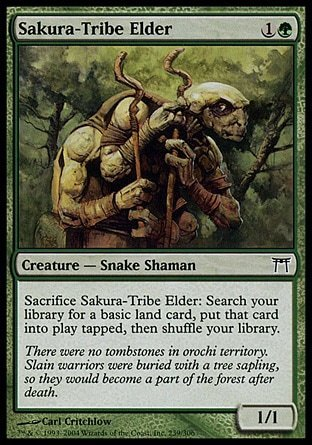 ANCIANO DE LA TRIBU SAKURA / SAKURA-TRIBE ELDER (CAMPEONES KAMIGAWA)