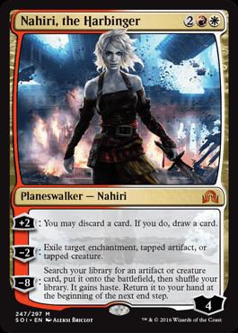 NAHIRI LA ADALID / NAHIRI THE HARBINGER (SOMBRAS SOBRE INNISTRAD)