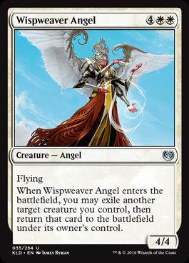 ANGEL TEJENUBES / WISPWEAVER ANGEL (KALADESH)