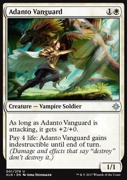 VANGUARDIA DE ADANTO / ADANTO VANGUARD (IXALAN)