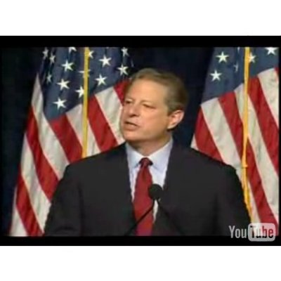 al gores speeches Start studying english 10, semester 2, unit 3 test, part 1 learn  how does this passage from al gore's nobel prize acceptance speech help to establish .