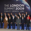 Group photo of the G20 meeting in London